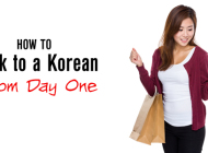 How to Talk With a Korean From Day One